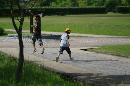 PENTAX K20D + Carl Zeiss Jena MC SONNAR 3.5/135, 青葉山ろく公園にて