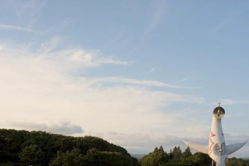 北摂の空と「太陽の塔」, FLEKTOGON 2.4/35