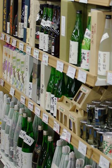 岡山の地酒, 彩菜みまさかにて