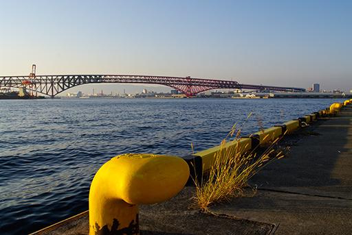 港大橋方面を眺めて,PENTAX K20D + DA 21mm F3.2 AL Limited